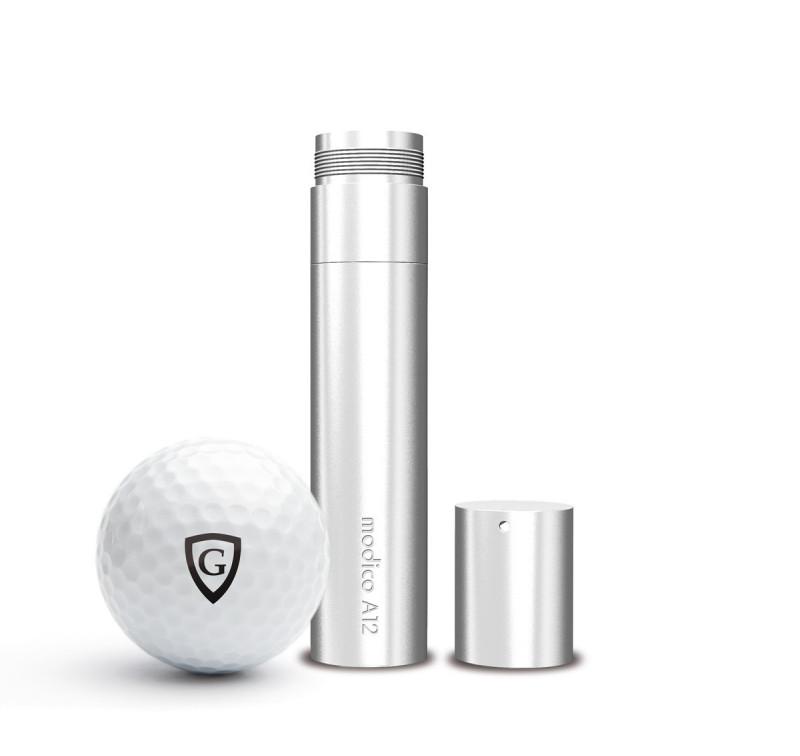 A12G - Tampon Balle de Golf, Auto encreur, Personnalisé, Empreinte Ø 12 mm
