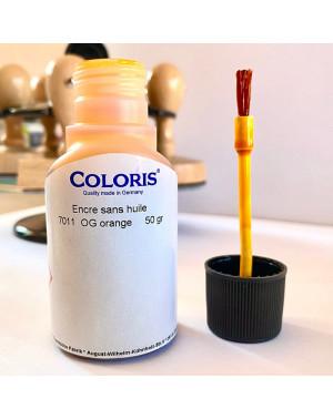 Encre Orange Coloris - 50 ml