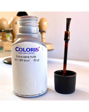 Encre Brun Coloris - 50 ml