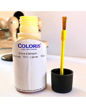 Encre Jaune Coloris - 50 ml