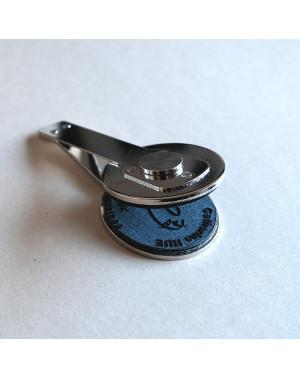 Cachet de rechange pour presse à gaufrer Shiny Deluxe Noir - 40 mm Rond