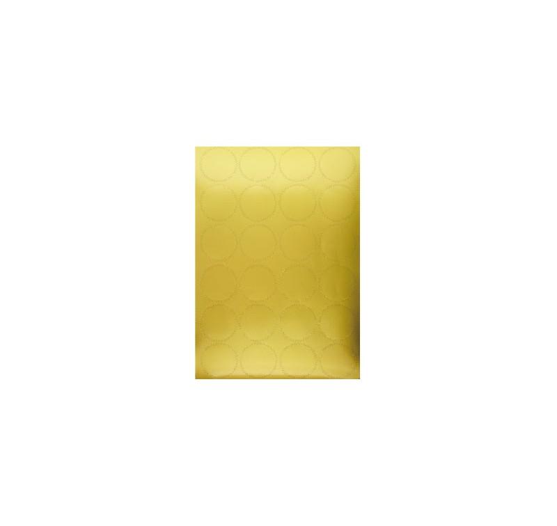 24 Stickers Couleur Or - Diamètre 4.5cm