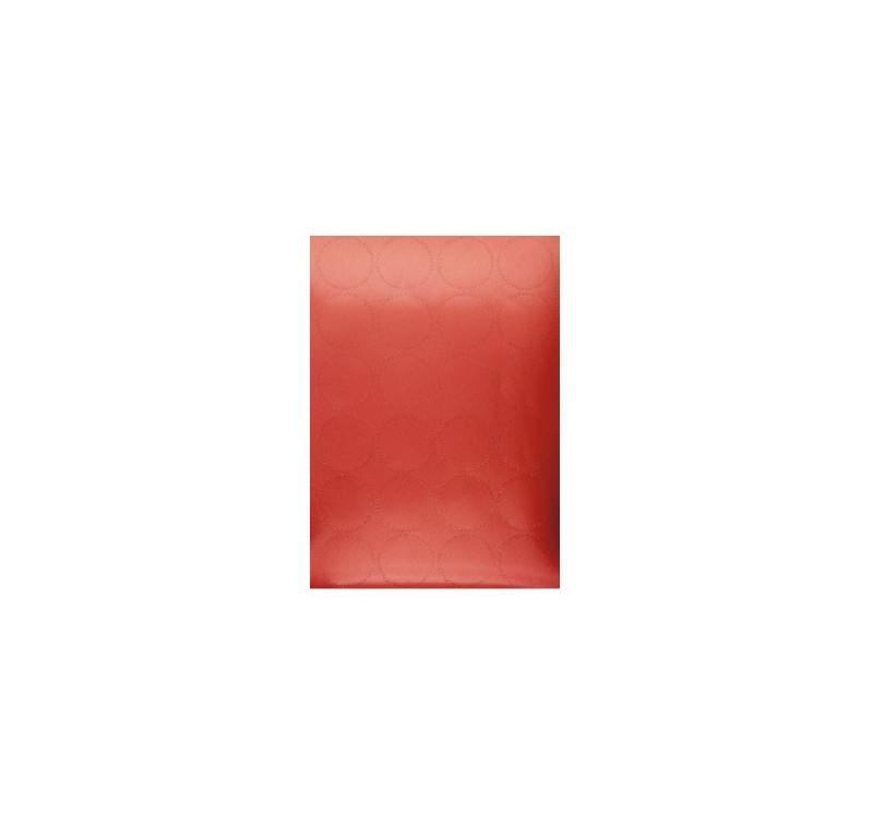 24 Stickers Couleur Rouge - Diamètre 4.5cm