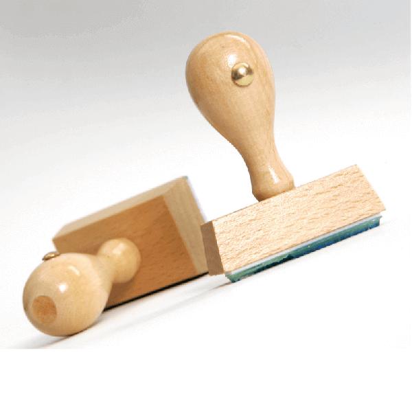 Tampon en bois